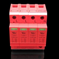 Enhanced High Quality Surge Protective Device 20-40KA MYM-C40 SPD LPD LPS Lightning Protection Lightningproof Equipment