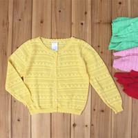 2014 NEW Autumn - Spring children sweater cardigan sweaters for girls sweater kid sweaters children outerwear