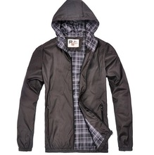 2014 New Hot Sale Man Outdoor Jakcet Hoodie Waterproof Jacket High Quality  MWJ093(China (Mainland))