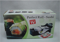 (Min order is $10) Easy Sushi Maker Roller equipment, perfect roll, Roll-Sushi with color box ,1pcs/set.kitchen accessories
