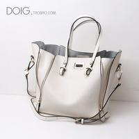 2014 fashion shopping bag handbag messenger bag female version of the genuine leather women's bags FREE SHIPPING