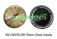 MIni clock inserts/70mm clock inserts/Roman numerals/Plastic clock inserts RZ-CK070-GR