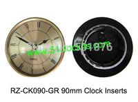 MIni clock inserts/90mm clock inserts/Roman numerals/clock fit-ups RZ-CK090-GR