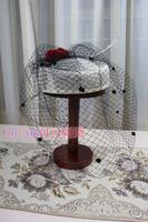 Fashion Party hat  Accessories Ladies' Fascinator Banquet Vintage Hat  M4