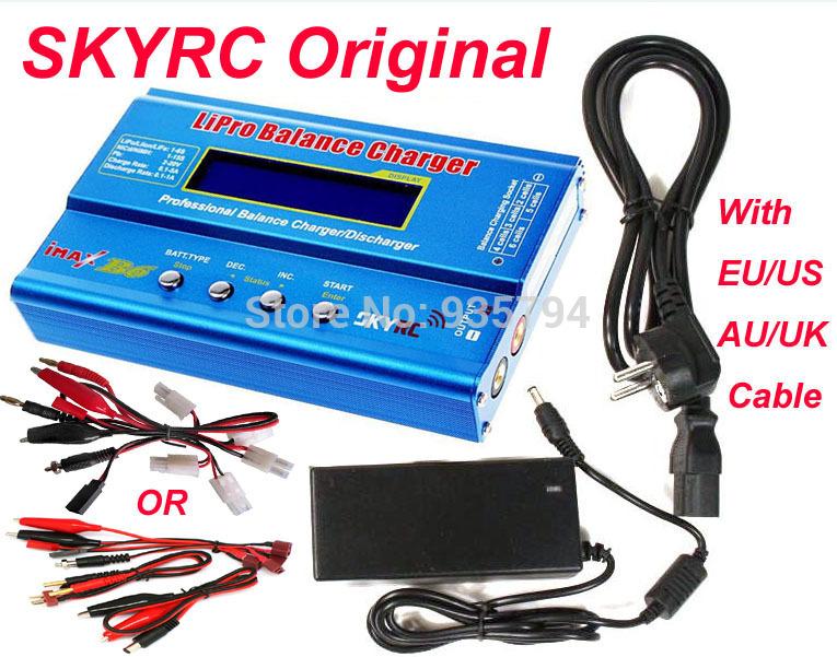 Promotion Free shipping Original SKYRC IMAX B6 Digital RC Lipo NiMh Battery Balance Charger With AC POWER 12v 5A Adapter(China (Mainland))
