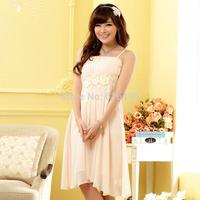 Free Shipping Uncommon 2014 Fashion Chiffon Summer Dress