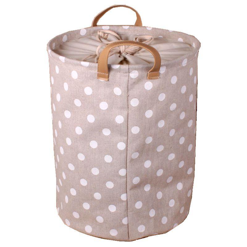 Endearment fluid fabric laundry bucket beam port folding laundry hamper toy underwear storage bucket(China (Mainland))