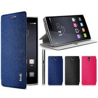 OnePlus One Case,  IMAK Happiness Leather Case for One OnePlus One with Stand Function and Retail Package