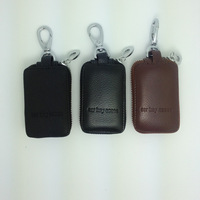 611532 Good leather key bag for car universal type popular model key bag leather  TOP quality cowhide free shipping