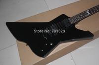 Brand new thund bird electric guitar explore free shipping black 6 strings firebird James Hetfield Snakebyte design