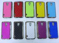 Free Shipping! Best Chromed Bling Star Crystal Diamond Rhinestone Hard Back Cover Case for LG Optimus L7 ii Dual P715, LGC-026