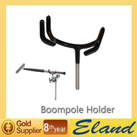 Easy Hood Boompole Holder 3-1/2 Support Holder Coated to Protect your Boom pole for Rode Sure Microphone