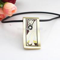 Newest Strip Peacock Eye Design Enamel Jewelry Pendant Necklace,1pcs/pack