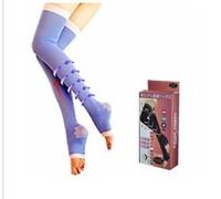 Stockings Women Slimming Spats Compression Shaping Leg Stocking Slim Type Beauty Feet Overnight Stockings Free Shipment