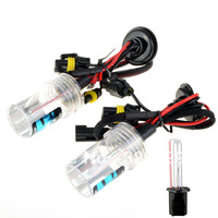 Hot selling ! 1 Pair/2PCS Xenon HID Car Headlights Head Lamps Bulb 35W H1 3000K-12000K Free shipping  G0216 P