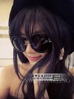 Major suit fashion sunglasses retro Prince circular frame sunglasses sunglasses ladies classic glasses  Free Shipping
