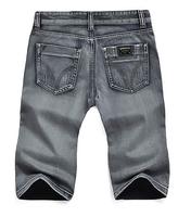 New Arrival Retail & Wholesale Straight Brand Denim Jeans Shorts Brand Short Jeans Men