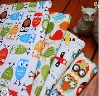 "50cm x 150cm (19""x59"") 4 pcs/lot ZAKKA 100% cotton fabric home textile DIY cloth Printed Home Decoration"