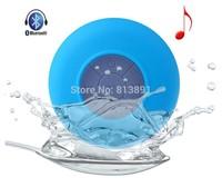 wholesale 1000pcs/lts Portable Waterproof Wireless Bluetooth Speaker Shower Car Handsfree Receive Call & Music Suction Phone Mic