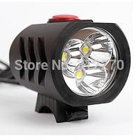 3800LM 3 xCREE XM-L XML T6 LED Bicycle Bike light Rechargeable Headlight Headlamp Flashlight torch +8.4v 6400mAh Battery Pack