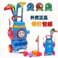 Child cartoon Thomas plastic golf ball bowling toy ball set educational toys outside sport toy ball birthday gifts free shipping