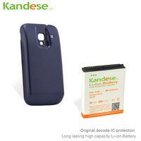 Kandese Extended Large Capacity 5200mAh Lithium Battery Replacement for phone Samsung  Galaxy ACE2 i8160 with back cover