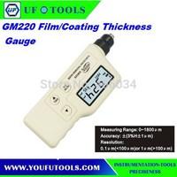 0-1800um(+-(3%H+1)),resolution:0.1um/1um, Film/Coating Thickness Gauge GM220