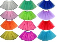 Free Shipping 2-7Years Lovely Fluffy Chiffon Pettiskirts Baby Girls Skirts Children Tutu Skirt Princess Dance Party Tulle Skirt(China (Mainland))