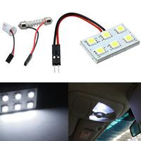 New 6 SMD 5050 LED T10 BA9S Dome Festoon Car Interior Light Panel Lamp 12V Tonsee