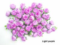 Decorative Flowers & Flower Head Use As Wedding,Home Decoration,Festiv Supplies,Light Purple Rose100pcs/Lot 3CM Free Shipping.