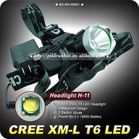 2000 Lumens Waterproof CREE XM-L T6 3 Modes Brightness LED Headlamp Headlight Head Lamp Light for Outdoor Sport Free Shipping!