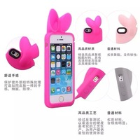 Amplification of rabbit ears model  Case   For iphone 5 5S+ protective film as gift  for  Free shipping