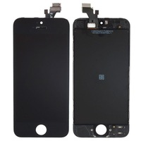 For iPhone 5 LCD Lens Touch Screen Display Digitizer  black or white free shipping