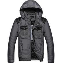 Free Shipping 2014 New Winter Men jackets Coats Cotton-parks Coats&Jackets
