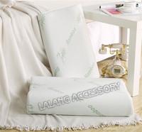 Free shipping 1pcs special design 100% bamboo fiber Slow rebound memory foam pillow neck cervical healthcare pillows 671825