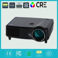 Resolution 800*480 HDTV HDMI Support 1080P HD  Projector LED Video Beamer projectors projektor