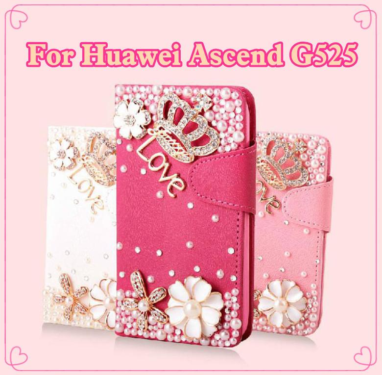 Чехол для для мобильных телефонов Caseii yunjia] G525 , Bling Huawei Ascend G525 For Huawei Ascend G525 промо коллекция forro чехол для huawei ascend g525 белый розовые цветы