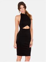 Fashion Celeb Women Midi Sleeveless Blackless Slim Bodycon Dress Party Nightclub Bridesmaid School Graduation Dress Black White