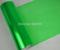 12''x80'' 0.3x2m Automobile Car Headlight Taillight Transparent film Sheet Sticker Vinyl Green
