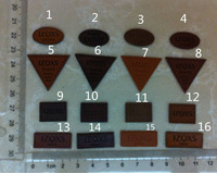 Free shipping.JZQXS,Quality Custom Leather Labels,Jeans Labels,Labels for Bags.Leather Patch .Free Shipping Worldwide