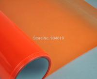 12''x80'' 0.3x2m Automobile Car Headlight Taillight Transparent film Sheet Sticker Vinyl Orange
