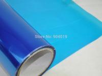 12''x80'' 0.3x2m Automobile Car Headlight Taillight Transparent film Sheet Sticker Vinyl Blue