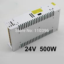 LED indicador de alimenta??o 24v 20a 12v 40a 48v 10a fonte de alimenta??o 500w , ac 110v 220v para dc transformador 12v/24v/48v poder(China (Mainland))