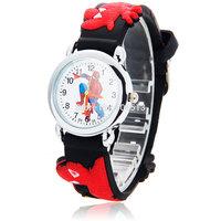 Mini Fashion Children Cartoon Silicone Watchband Quartz Wrist Watch