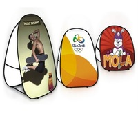 Vertical Pop Up A-Frame Banner with Printing - S size Free shipping to Australia and New Zealand