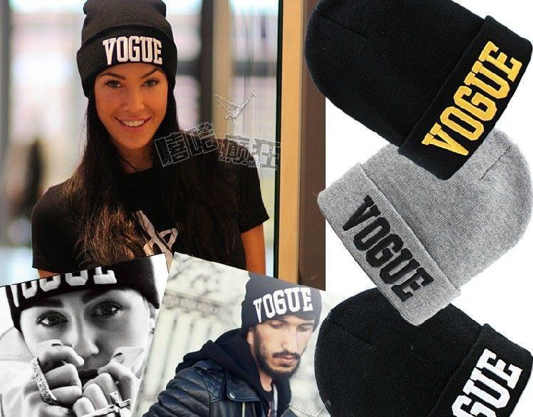 1Pcs Hot Selling New VOGUE Style Fashion Men Women Skull Beanie Hat Winter Fall Hiphop Warm Cap(China (Mainland))