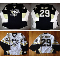 Personality customize  Pittsburgh Penguins jersey goalie cut Jersey Home/Away/Alternate customize swen on Any Name & NO. Size