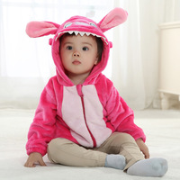 2014 spring new models flannel coats baby clothes