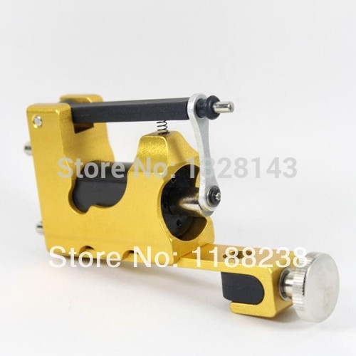 STEALTH ROTARY Aluminum Rotary Tattoo Machine Strong Consistent Power for Shader & Liner Yellow one(China (Mainland))
