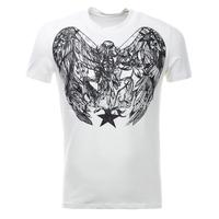 Gvc 201 for 4s men's s clothing owl full three-dimensional print male short-sleeve T-shirt version type